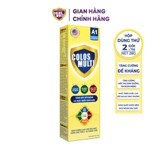 Sữa non Colosmulti A1 hộp 2 gói x 14g tăng sức đề kháng cho trẻ - MÂ U THƯ thumbnail