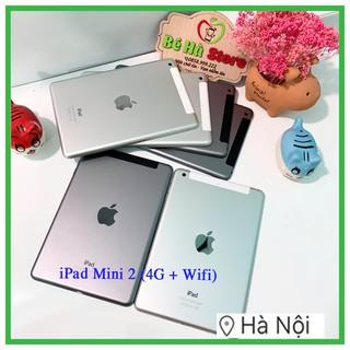 Máy Tính Bảng iPad Mini 2 – 32/64/128Gb (Wifi + 4G) – Zin Đẹp 99%