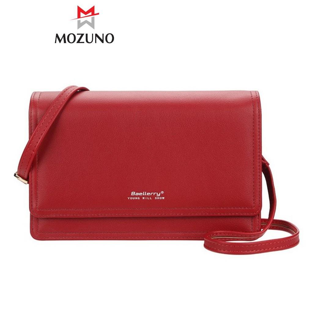 Túi Đeo Chéo Nữ Chính Hãng BAELLERRY Dáng Vuông Đựng Điện Thoại Giấy Tờ Siêu Xinh Siêu Đẹp BR35 - Mozuno