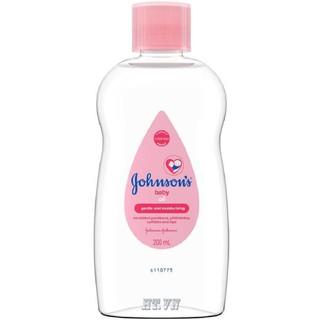 Dầu Massage Em Bé 200Ml Johnson S Baby Oil với hd.shop mọi sản phẩm đều là chính hãng thumbnail
