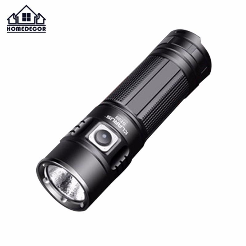 HD KLARUS G20 Flashlight XHP70 N4 LED 3000 LM Torch Dual-Switch Mini