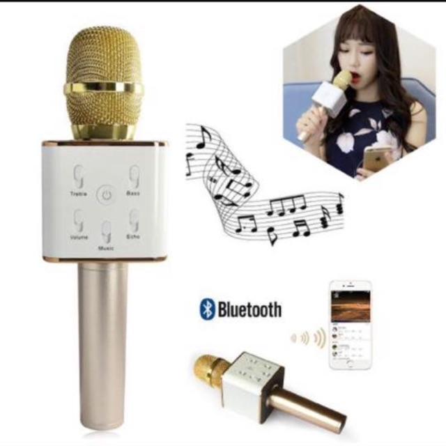 (SIÊU RẺ) Q7-Mix hát karaok Kèm Loa BLutool