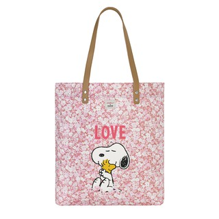 Cath Kidston - Túi Snoopy Simple Shopper with Leather Handle - 910125 - Washed Pink thumbnail