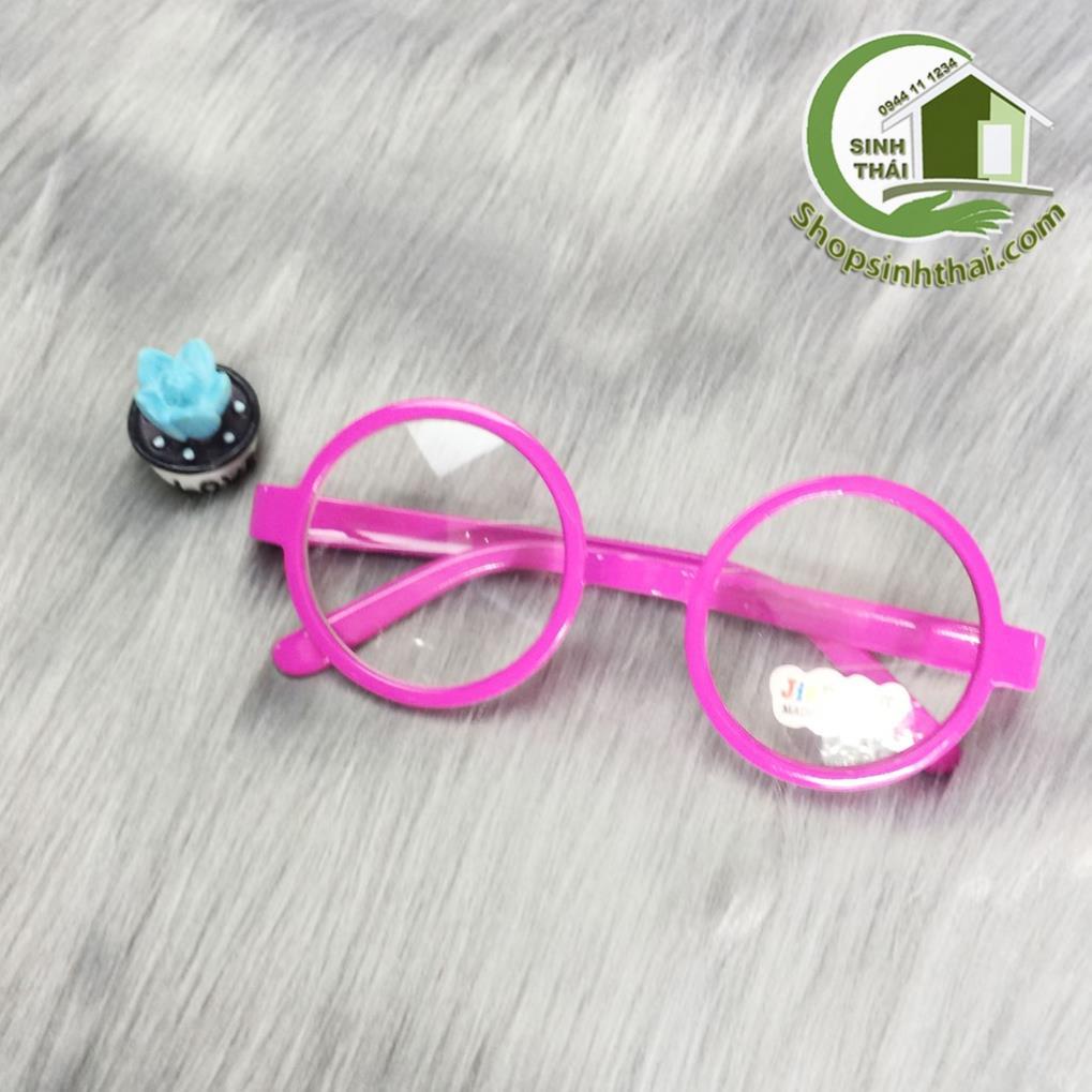 Mắt kính trẻ em màu hồng [ giá sỉ ] - tặng kèm túi đựng