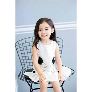 váy thỏ trắng cho bé