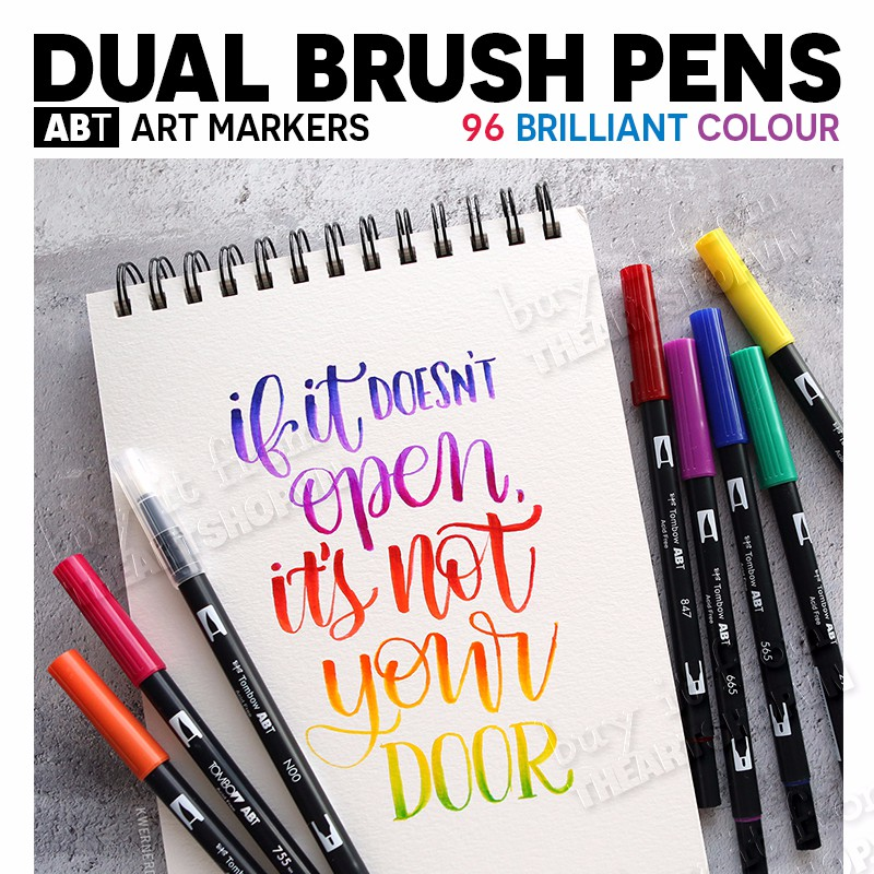 PBút Marker TOMBOW ABT Dual Brush Pens Bán Lẻ Shopee Việt Nam - Tombow abt markers
