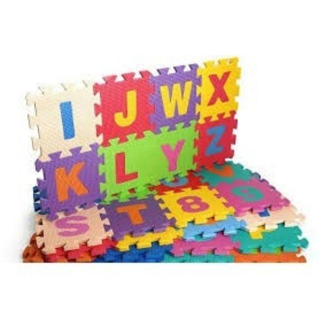 RẺ VÔ ĐỊCH (Thảm xốp chữ cái 26 miếng A_Z 30*30 dày 1cm)