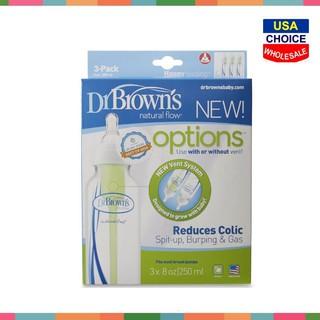 Bình sữa Dr.Brown Options 120ml 240ml