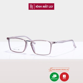 Gọng kính cận nữ Lilyeyewear nhựa dẻo, mắt vuông 2165