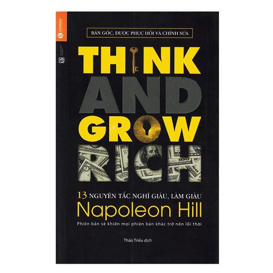 Sách - 13 Nguyên Tắc Nghĩ Giàu Làm Giàu - Think And Grow Rich (Tái Bản) - 3526767 , 1154075358 , 322_1154075358 , 89000 , Sach-13-Nguyen-Tac-Nghi-Giau-Lam-Giau-Think-And-Grow-Rich-Tai-Ban-322_1154075358 , shopee.vn , Sách - 13 Nguyên Tắc Nghĩ Giàu Làm Giàu - Think And Grow Rich (Tái Bản)