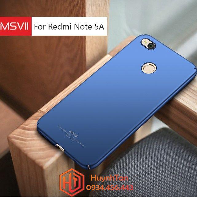 XIaomi Redmi Note 5a Prime _ ỐP nhựa cứng full cạnh chính hãng MSVII bao check