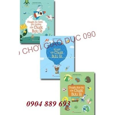 Sách - Chuột bưu tá 3 cuốn - bộ sách tranh giúp bé phát triển khả năng ngôn ngữ, trí tưởng tượng và - 2619607 , 1193158213 , 322_1193158213 , 108000 , Sach-Chuot-buu-ta-3-cuon-bo-sach-tranh-giup-be-phat-trien-kha-nang-ngon-ngu-tri-tuong-tuong-va-322_1193158213 , shopee.vn , Sách - Chuột bưu tá 3 cuốn - bộ sách tranh giúp bé phát triển khả năng ngôn ngữ, t