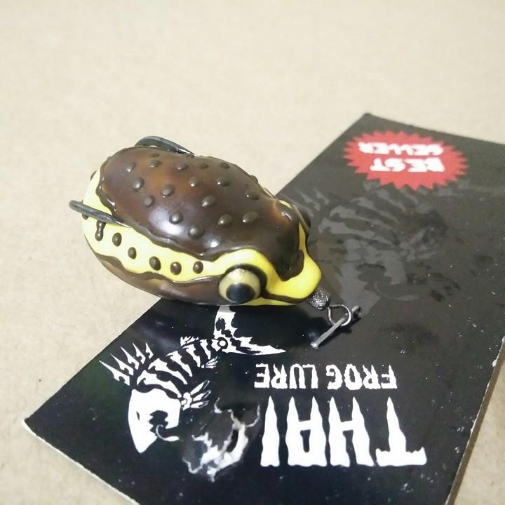 Mồi Câu Nhai Giả Mồi Lure Frog Stoon Thái Lan Siêu Hot - Hàng Hot