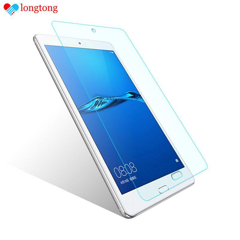 "Anti-dust Tempered Glass for 8"" Huawei M3 Mediapad Tablet Screen Protector LONGTONG"