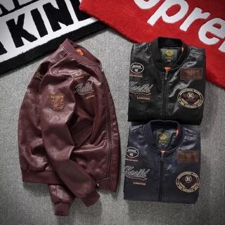 Áo khoác LD Leather jacket full tem Tag