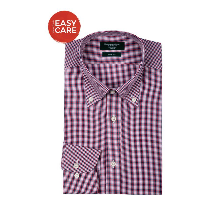 Button Down Saxe Navy Poplin Check Dress Shirt - 3576512 , 1138057644 , 322_1138057644 , 2190000 , Button-Down-Saxe-Navy-Poplin-Check-Dress-Shirt-322_1138057644 , shopee.vn , Button Down Saxe Navy Poplin Check Dress Shirt