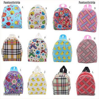 Fantastictrip Cute Dolls Schoolbag Backpack for 18 inch American Girl Outgoing Bag Dolls