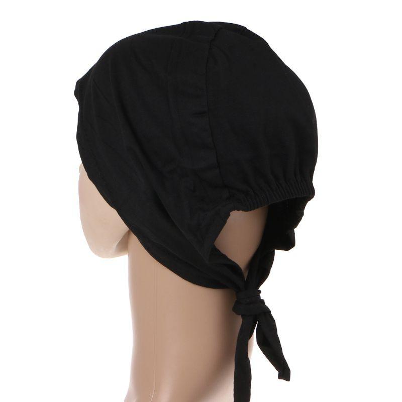 Mũ trùm đầu co giãn phong cách Hồi giáo dành cho nữ