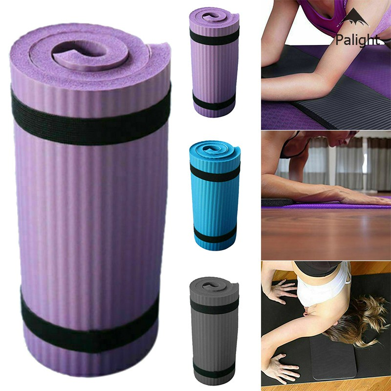 ✨PA✨ Yoga Pilates Mat Thick Exercise Gym Non-Slip Workout 15mm Fitness Mats