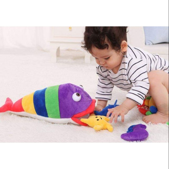 Set thú bông đồ chơi cho bé sơ sinh