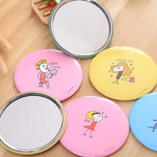 Gương mini cầm tay [⚡SIÊU TIỆN LỢI⚡] phong cách Hàn Quốc Vrg1480 GIADUNGGIAREVP88