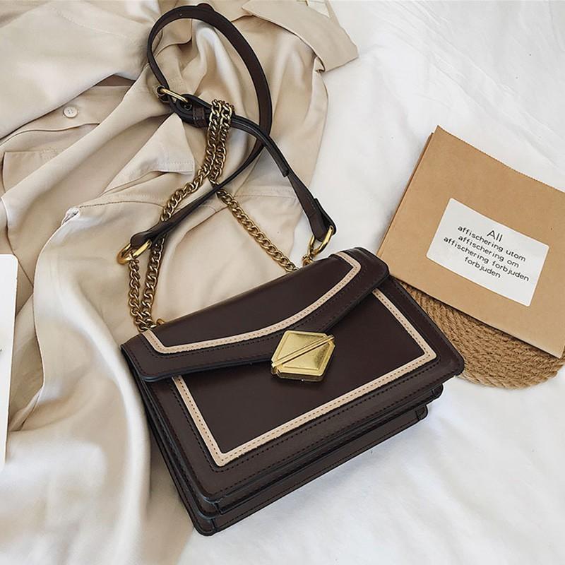 Chic bag female texture ins super fire 2019 new Korean versi