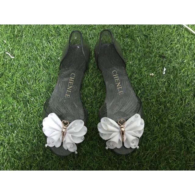 Giày búp bê nhựa dẻo - 3604513 , 1145665122 , 322_1145665122 , 60000 , Giay-bup-be-nhua-deo-322_1145665122 , shopee.vn , Giày búp bê nhựa dẻo
