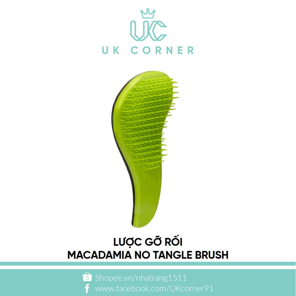 Lược gỡ rối Macadamia No Tangle Brush