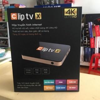 Androi TV Box Clip TV X - Biến tivi thường thành tivi thông minh