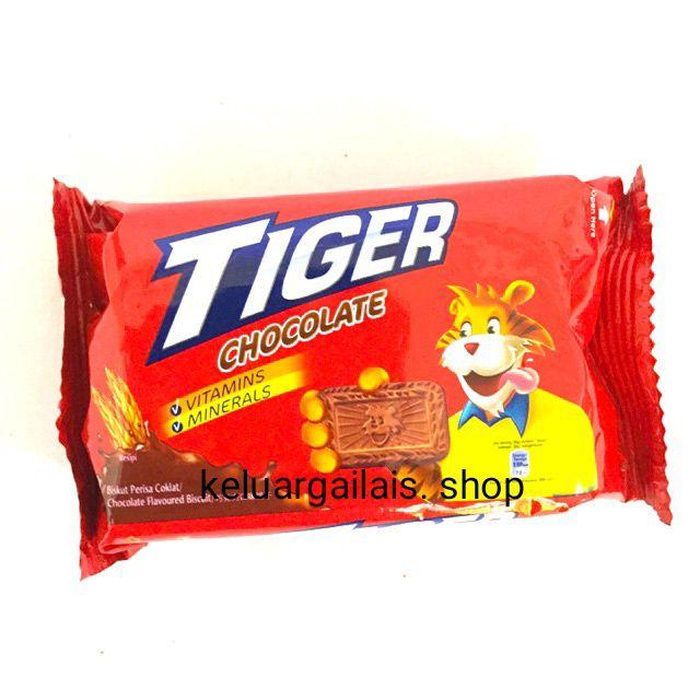 บิสกิตTiger ขนาด60g มีรสchocolate /original