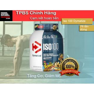 WHEY ISO100 5LBS (2KG3) (76 lần dùng) [DYMATYZE ] Sữa tăng cơ, phát triển cơ bắp Whey Protein chất lượng cao chính hãng