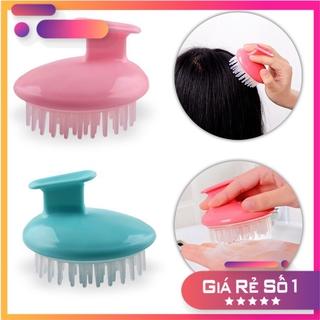 [Xả Kho] Lược gội đầu massage 2 in1 , lược gội đầu silicon thư giản da đầu thumbnail