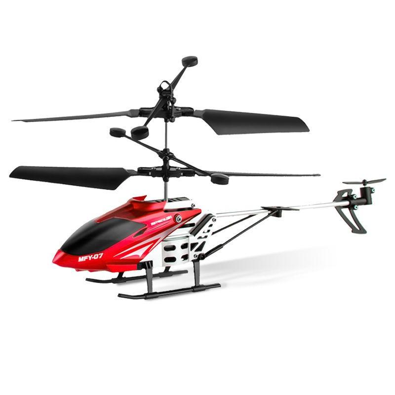 mini Drone máy bay điều khiển từ xa cho trẻ em trực thăng nhỏ học sinh tiểu đồ chơi công nghệ đen cậu bé có thể sạc