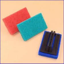 (Cực Sock) Sản phẩm Miếng bọt biển chà vệ sinh có tay cầm tiện dụng