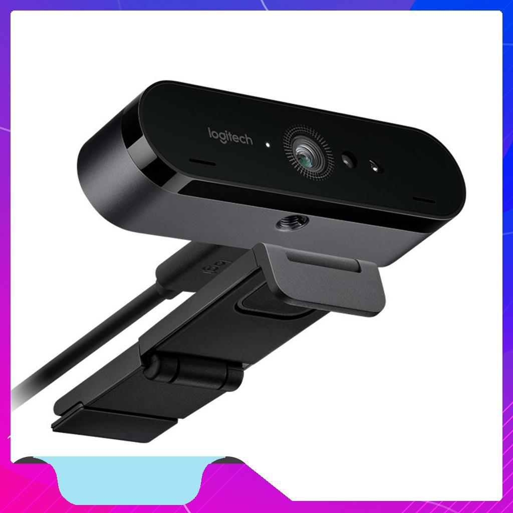 Webcam Logitech BRIO - 4K Ultra HD (Đen) - Chính Hãng - Chính hãng
