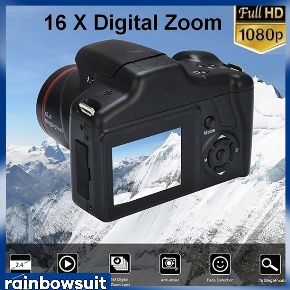XJ05 Full HD 1080P Máy quay video camera kỹ thuật số thu phóng 2,4 inch 16X XJ05