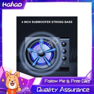 Hahao Desktop Channel 2.1 Stereo Subwoofer Sound Bar Speaker Theater Soundbar