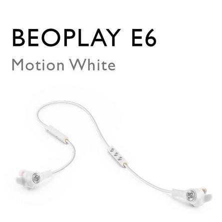 Tai Nghe Bluetooth Beoplay E6 Motion White chống ồn chủ động, NEW, nguyên seal 100%