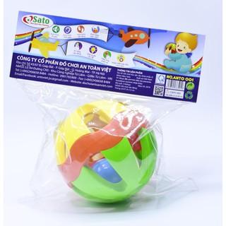 Bộ đồ chơi XÚC XẮC CẦU SATO cho bé từ 3 tháng tuổi (mẫu 2)