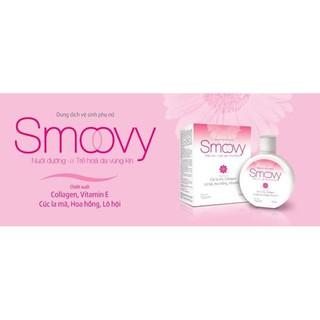 Dung dịch vệ sinh phụ nữ Smoovy giúp nuôi dưỡng và trẻ hoá da vùng kín 6