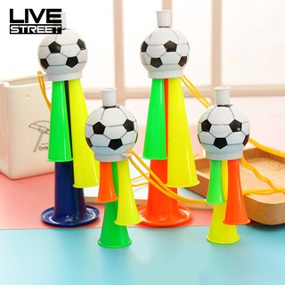 LIVE World Cup Football Soccer Sports Fans Plastic Cheer Horn Toy