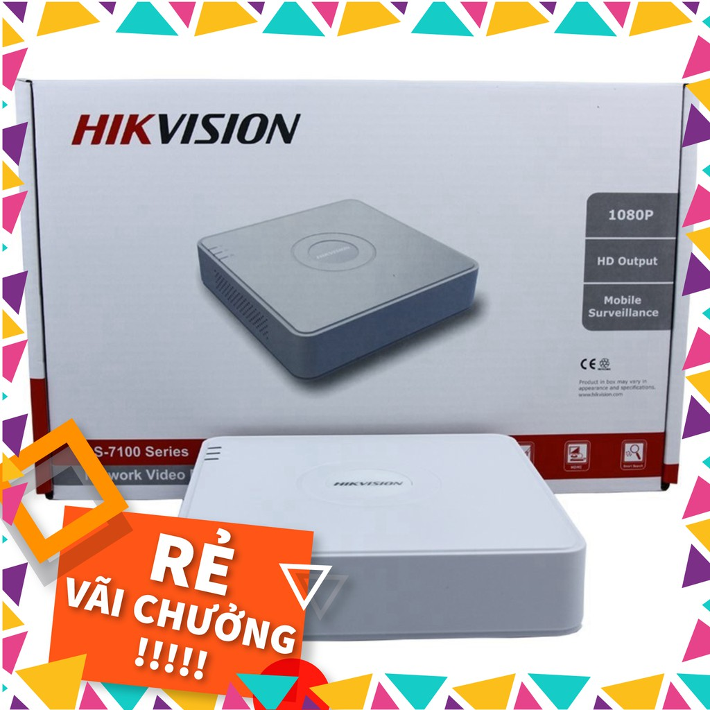 Đầu ghi hình 16 kênh Turbo HD 4.0 Hikvision DS-7116HQHI-K1  - Hàng chính hãng 100% - C