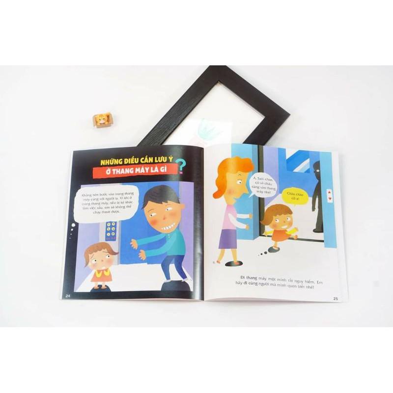 Sách - Bộ 5 quyển Dạy trẻ an toàn, vượt ngàn nguy hiểm