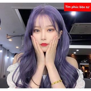 Thuốc nhuộm tóc màu tím phúc bồn tử