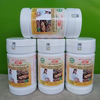 04 Bột dinh dưỡng X5 Plus-dành cho bà bầu gồm các hạt ngũ cốc nảy mầm, bổ sung sữa gầy,đạm đậu nành,óc chó,hạnh nhân,…