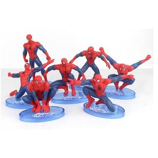 Set 7 Spider Man