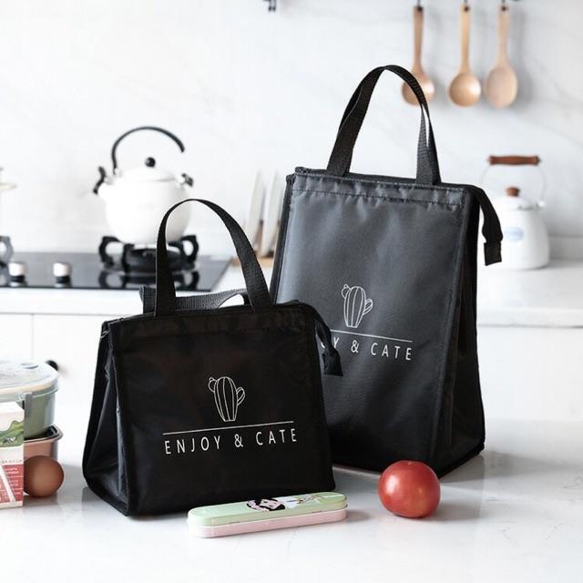 Túi giữ nhiệt đựng đồ ăn - Túi đựng cơm giữ nhiệt nóng - lạnh cỡ đại Sharing Love