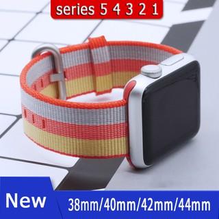 Dây đeo bện nylon mịn mượt cho đồng hồ Apple Watch 5 4 3 2 1 44mm/ 40mm/38mm/42mm