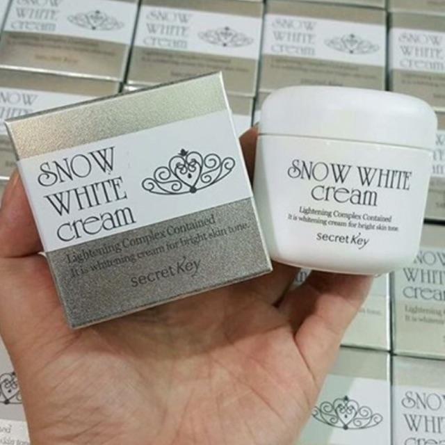 Kem Dưỡng Trắng Da SNOW WHITE CREAM - 2535473 , 169777598 , 322_169777598 , 140000 , Kem-Duong-Trang-Da-SNOW-WHITE-CREAM-322_169777598 , shopee.vn , Kem Dưỡng Trắng Da SNOW WHITE CREAM