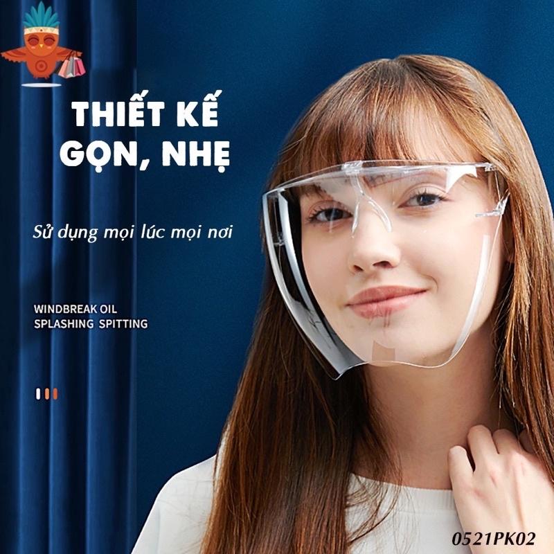 Kính chống giọt bắn kính bảo hộ trong suốt an toàn không mờ hàng chính hãng